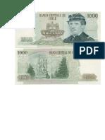 Billetess Anterior y Reverso
