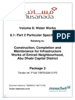 Water Specification
