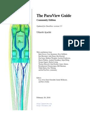 ParaViewGuide-5 5 0 | Scripting Language | Software