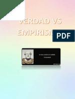 Ensayo Verdad.vs.Empirismo Chávez