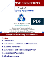 Chapter 3 Scattering Parameters
