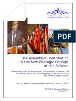 The Assembly's Contribution to the New Strategic Concept of the Alliance_2010