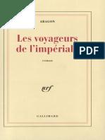 Les Voyageurs de l'imperiale - Louis Aragon.epub
