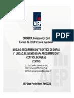UN1- Elementos Para Programación y Control de Obras V2-1