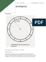 Aspectos astrológicos_ Conjunção