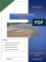 Sedimentación en Cuencas