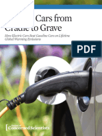 Cleaner Cars From Cradle to Grave Full Report