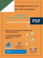 Memorias del II Encuentro de CECA - Museos, Educación y Virtualidad