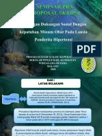 Seminar Pra Proposal Skripsi Nofen