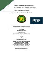 ANTAGONISMO FARMACOLOGICO