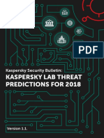 Predictions 2018 KSB
