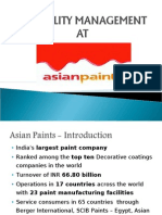 Reliability Management at Asian Paints_Team 3