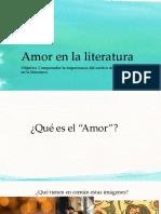 Amor en La Literatura PPT