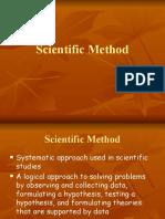 Scientific Method CONTINUED