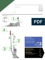 Dyson DC41 Manual