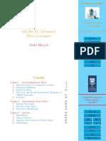 Advanced Microeconomics - Game Theory