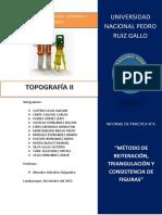 MÉTODO DE REITERACIÓN, TRIANGULACIÓN Y CONSISTENCIA DE FIGURAS