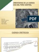 Rocas Sedimentarias de La Cuenca Cretácica