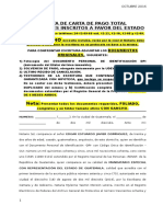 11. Carta de Pago Total Hipoteca Registrada a Favor Del Estado
