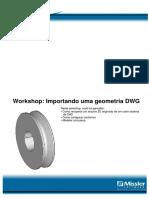 Importando Uma Geometria DWG
