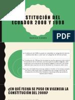 Comparación de la constitución del Ecuador 2008 y 1989.pptx