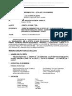 INFORME FINAL MEJORAMIENTO DE LA OFERTA I.E. 50902 SANIRIATO  final.doc