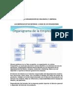Estructura Organización de Una Marca o Empresa