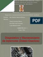 Diagnóstico y Mantenimiento de Inyectores Diesel y Gasolina