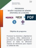 Programa Mujer y Equidad de Genero (2)