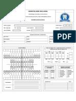 Ficha Estomatológica - Pacientes Especiales