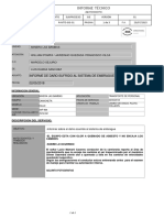 Informe de Daño Camioneta X4F