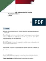 Planificacion Minera Control