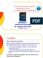 Session 10 - Advanced Counting