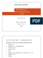 Network Programming in c#