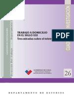 Gobierno de Chile - Trabajo a Domicilio en El S. XXI
