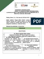 Seminario Internacional - Derechos Humanos y Derecho Penal Internacional