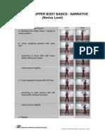 AIKS Instructional Materials - Isshinryu Basics - Upper Body - Novice Level - Narrative