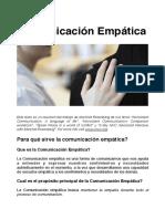 Comunicación-empática