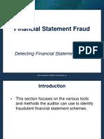 ACFE 10 Detecting Fsf