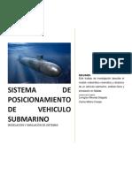 Modelo Matematico de Sistema de Posicionamiento de Un Subamrino