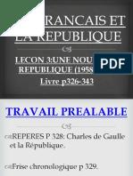 1958-1962:UNE NOUVELLE REPUBLIQUE