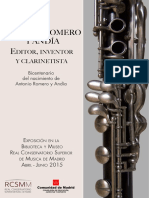 Antonio Romero y Andía. Editor, Inventor y Clarinetista. Bicentenario del nacimiento de A. Romero y Andía.pdf