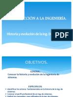 1.2 Historia de La Ingeniería de Sistemas