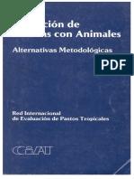 Evaluacion de Pasturas Con Animales Alternativas Metodologicas