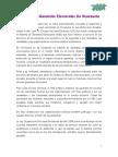 ¿En qué consiste el proceso del Sistema de Garantías Electorales en Venezuela?