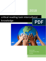 critical reading task