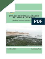 Algas Marinas de La Región La Libertad