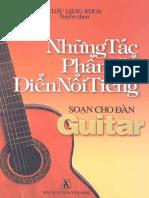 Những Tác Phẩm Cổ Điển Nổi Tiếng Soạn Cho Đàn Guitar - Châu Đăng Khoa