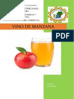 Vino de Manzana