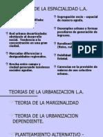 Teorias de La Urbanizacion